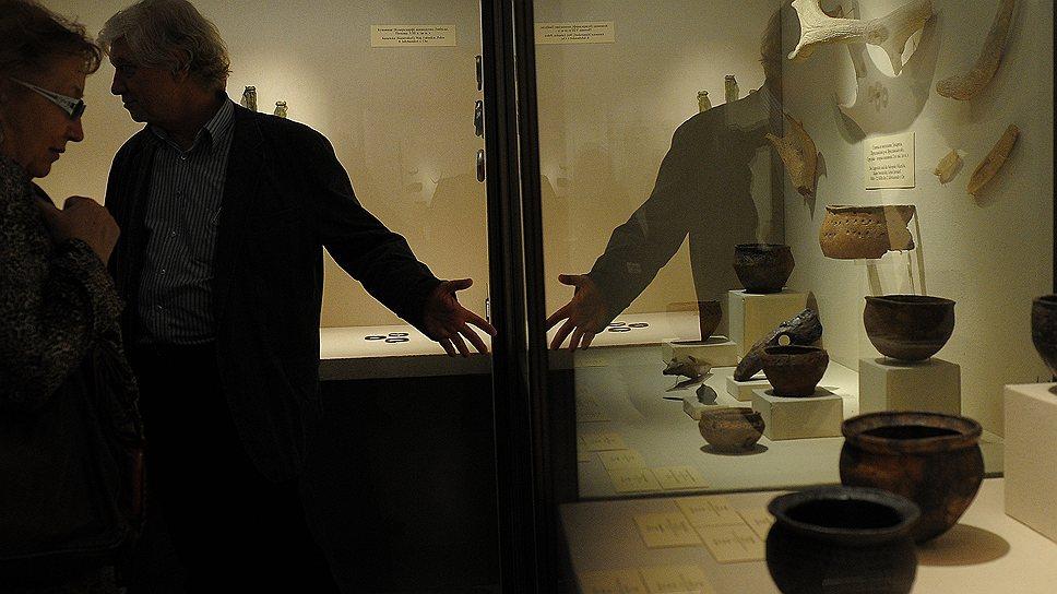 """На выставке """"Бронзовый век"""" в Государственном Эрмитаже вывезенные из Германии трофейные сокровища наконец-то вышли из тени"""