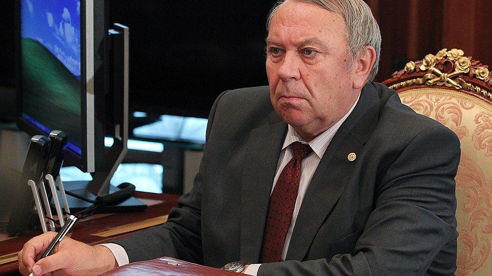 Владимир Фортов, попав вчера в Кремль, надеялся отменить реформу РАН. А не вышло