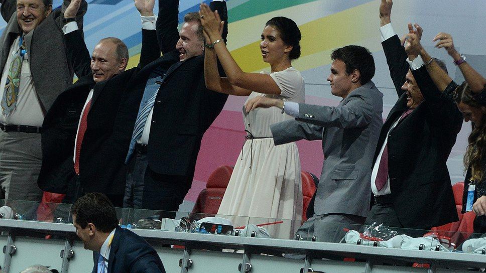 На церемонии открытия Универсиады президент России Владимир Путин нагнал волну больше, чем те, кто пытался это сделать до церемонии