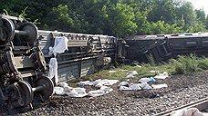Рельсы не выдержали локомотива