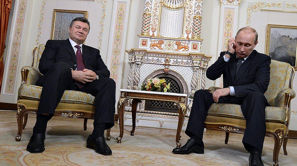 Президенту РФ Владимиру Путину предстоят непростые переговоры с украинским коллегой Виктором Януковичем