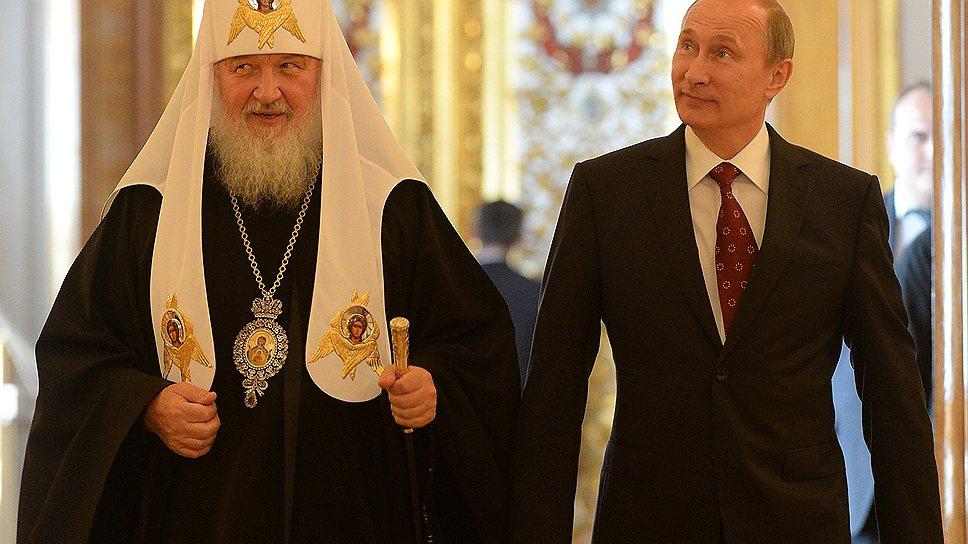 Владимир Путин и патриарх Кирилл начали празднование 1025-летия Крещения Руси