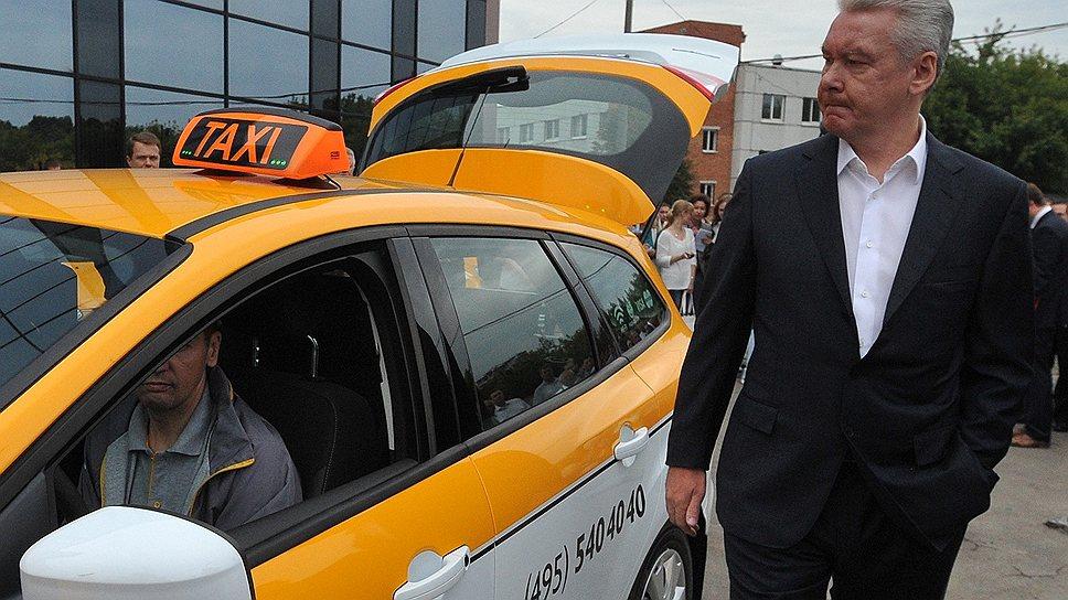 Сергею Собянину будущее столичного такси видится исключительно в желтом цвете
