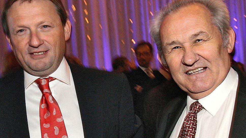Чтобы воспользоваться амнистией, принятой по инициативе уполномоченного по правам предпринимателей Бориса Титова (слева), Александру Семченко (справа) нужно погасить ущерб в 90 млн руб. и признать вину