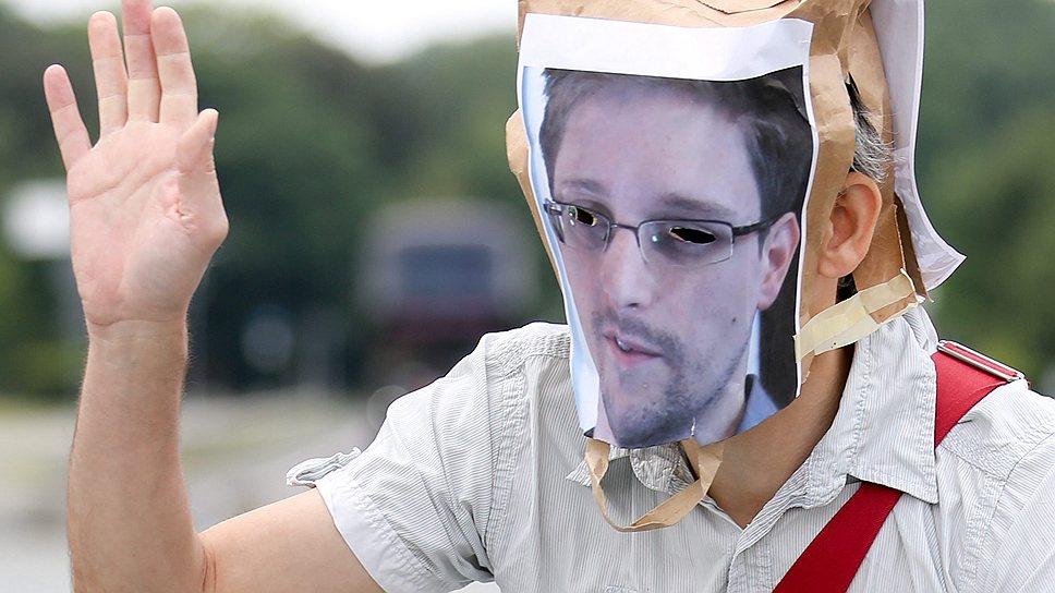 Акции в поддержку Эдварда Сноудена в Европе не помогли ему получить там политическое убежище