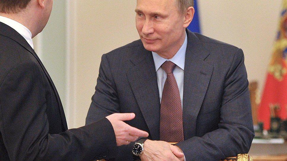 Президенту Владимиру Путину принесли на одобрение планы радикального ужесточения финансового курса правительства Дмитрия Медведева с 2014 года