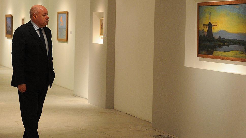 На ретроспективе Пита Мондриана в Третьяковской галерее зрители проходят с художником долгий путь от мельницы до решетки