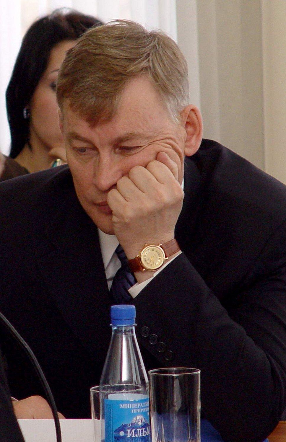 Виктор Ардабьевский подозревается в организации двух убийств бизнесменов