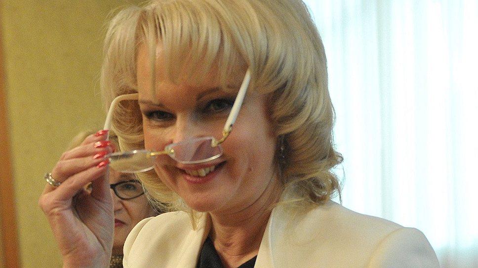 Новый председатель Счетной палаты Татьяна Голикова обещает снять гриф секретности с большинства материалов ведомства