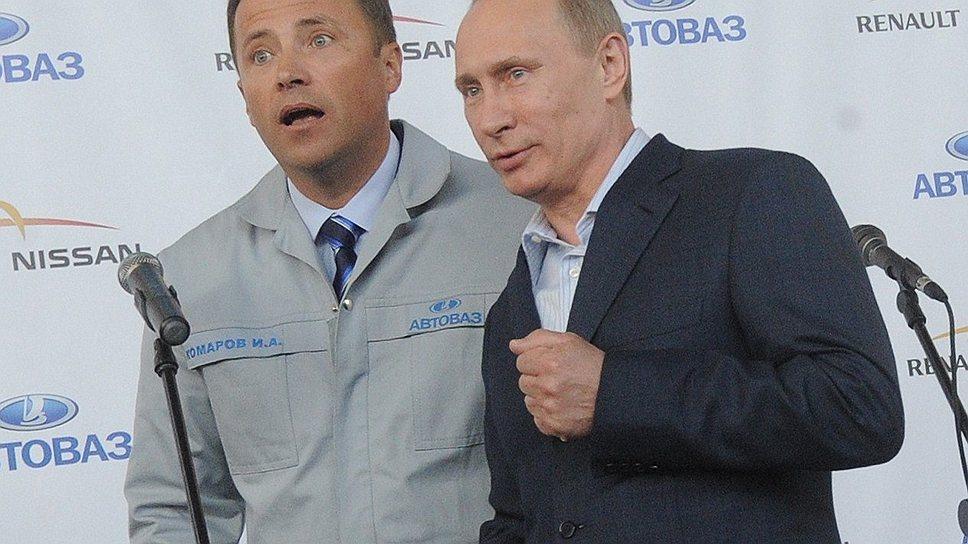 Отвечать на вопросы Владимира Путина о проблемах космической отрасли теперь предстоит Игорю Комарову