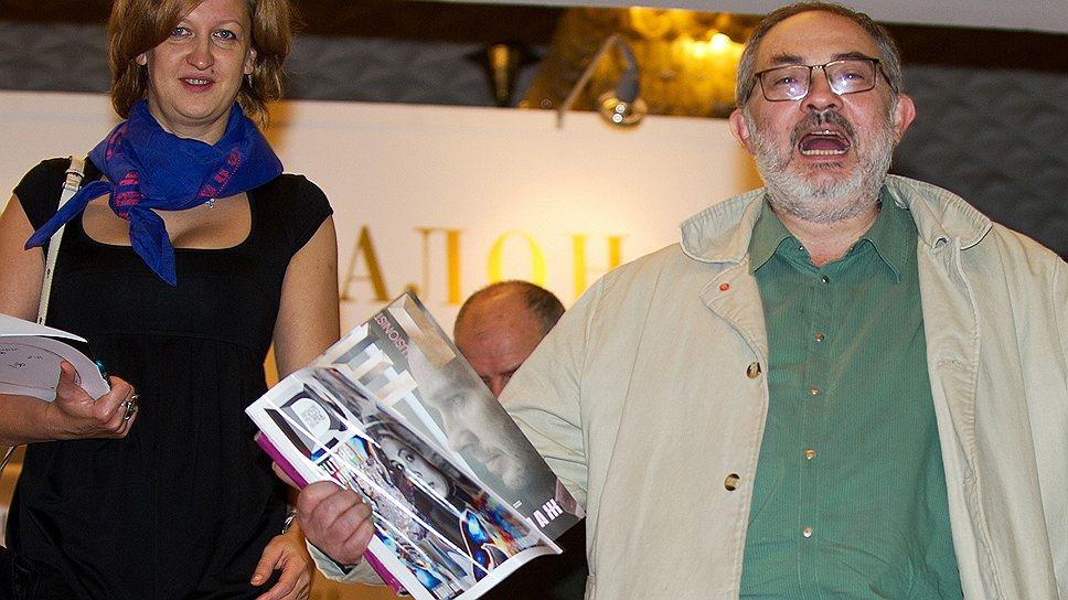 Встреча с прекрасным прошлым вызвала у галериста Марата Гельмана (на фото справа) бурные эмоции