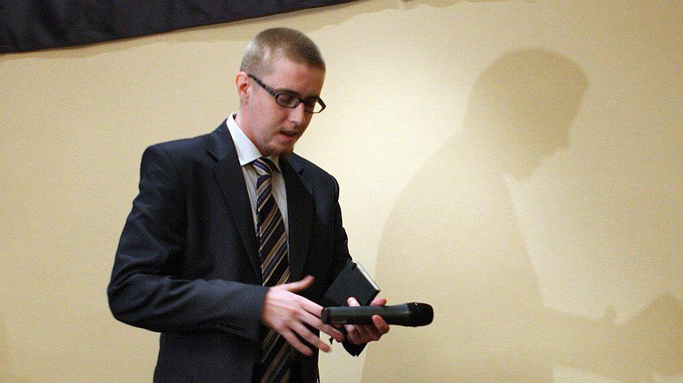 Видный националист Илья Горячев обвиняется в причастности к десятку особо тяжких преступлений