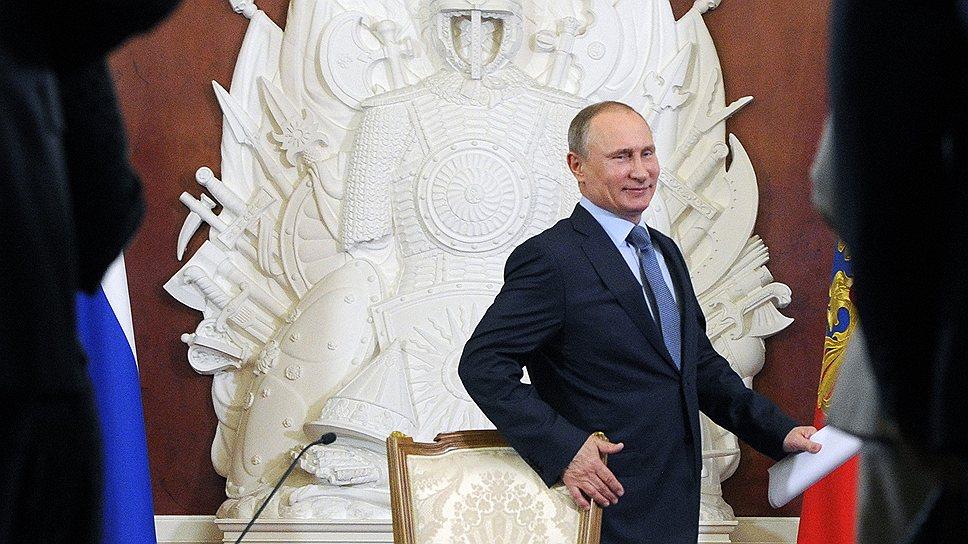 Владимир Путин нашел общий язык с делегатами Всероссийского съезда муниципальных образований