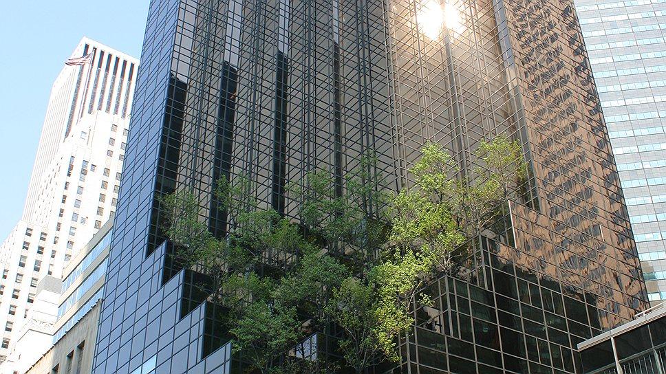 В России Дональд Трамп хочет построить аналог своего 58-этажного небоскреба Trump Tower в Нью-Йорке