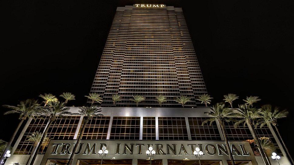 Отель Trump International – самое высокое жилое здание (190 м) в Лас-Вегасе