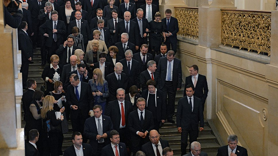 Депутаты и сенаторы за месяц до президентского послания уже определились с ожиданиями