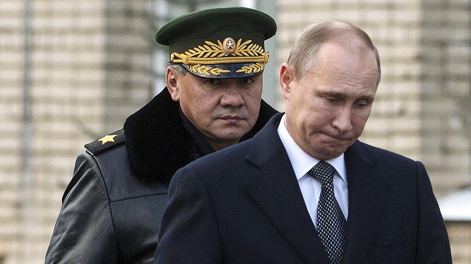 Президент прошел демоверсию войны – Газета Коммерсантъ № 211 (5243) от  16.11.2013