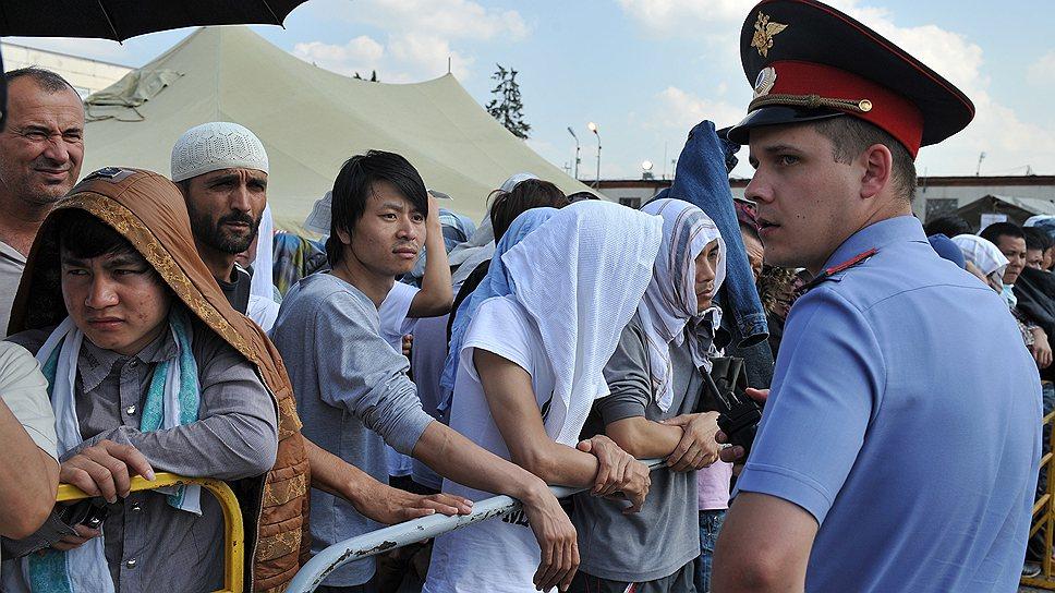 Где в Москве больше всего мигрантов