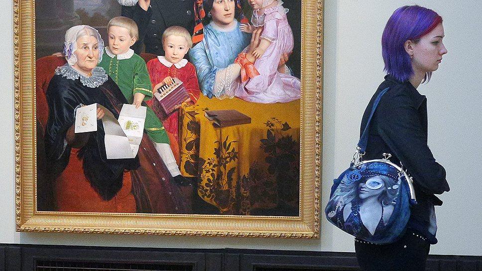 Мятежный дух романтизма на выставке почти не ощущается, его затмила идиллическая жизнь дворянских семей