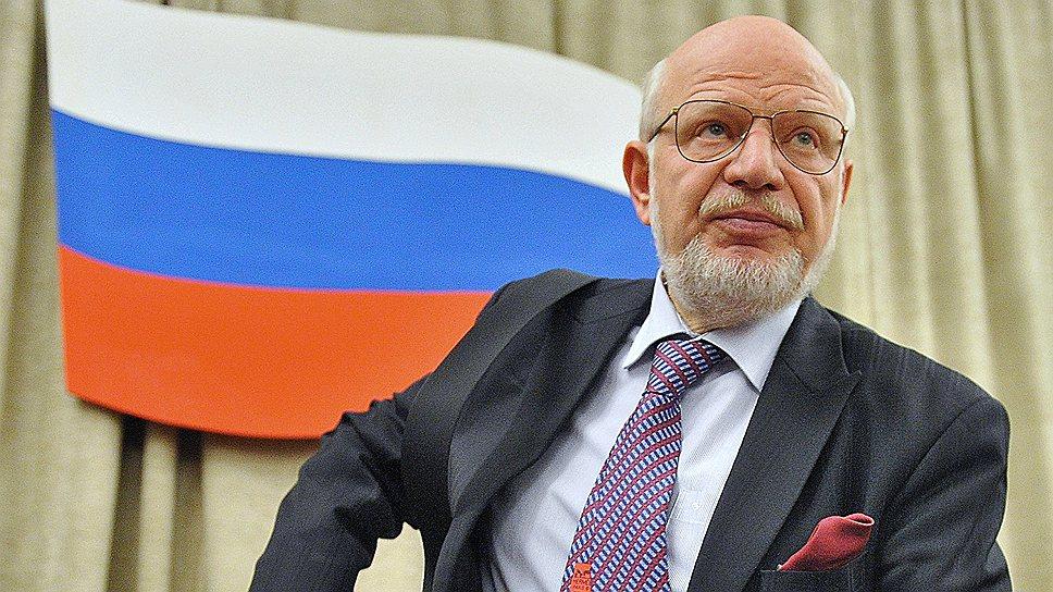 Председатель Совета при президенте России по развитию гражданского общества и правам человека Михаил Федотов