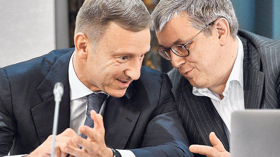 Ректор Высшей школы экономики Ярослав Кузьминов (справа) стоит за многими реформами, проводимыми Минобрнауки и его нынешним руководителем Дмитрием Ливановым