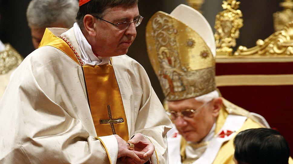 Курт Кох (слева) начал укреплять взаимоотношения с православными еще при Бенедикте XVI (справа)