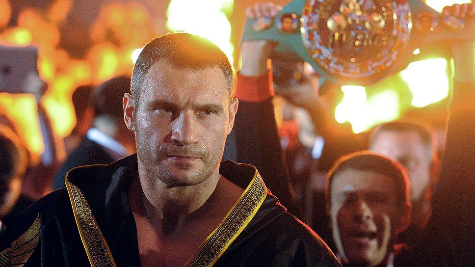 Ради политической карьеры Виталий Кличко пожертвовал чемпионским поясом