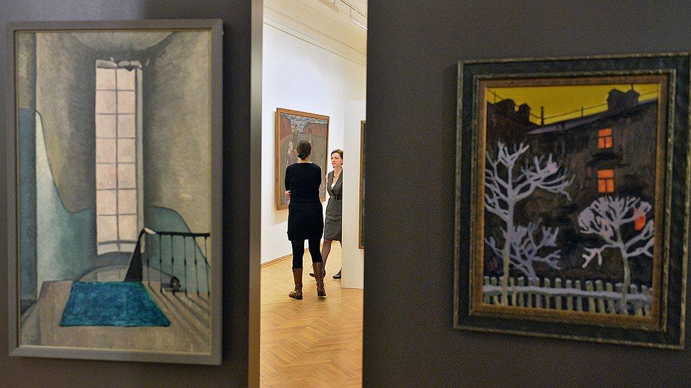 """На выставке в Академии художеств один из основателей """"сурового стиля"""" Виктор Попков зажат между мрачным официозом и личной безнадежностью"""