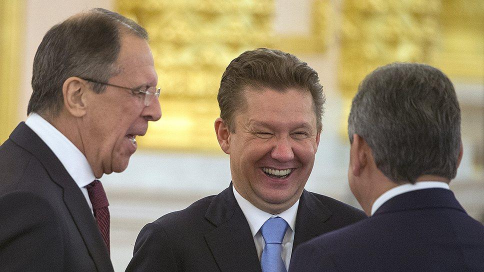 Члены российской делегации веселились от души, пока их украинские коллеги молчали, желая, видимо, посмеяться последними