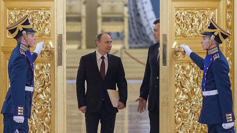 Как прошла встреча Владимира Путина и Виктора Януковича