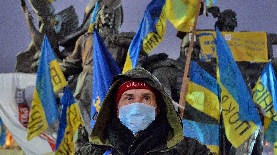 Московские договоренности не охладили пыл сторонников европейской интеграции, готовых стоять на Майдане до победы