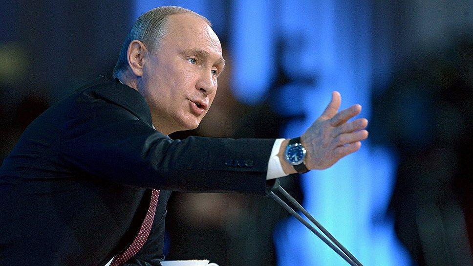 Как прошла пресс-конференция Вадимира Путина в декабре