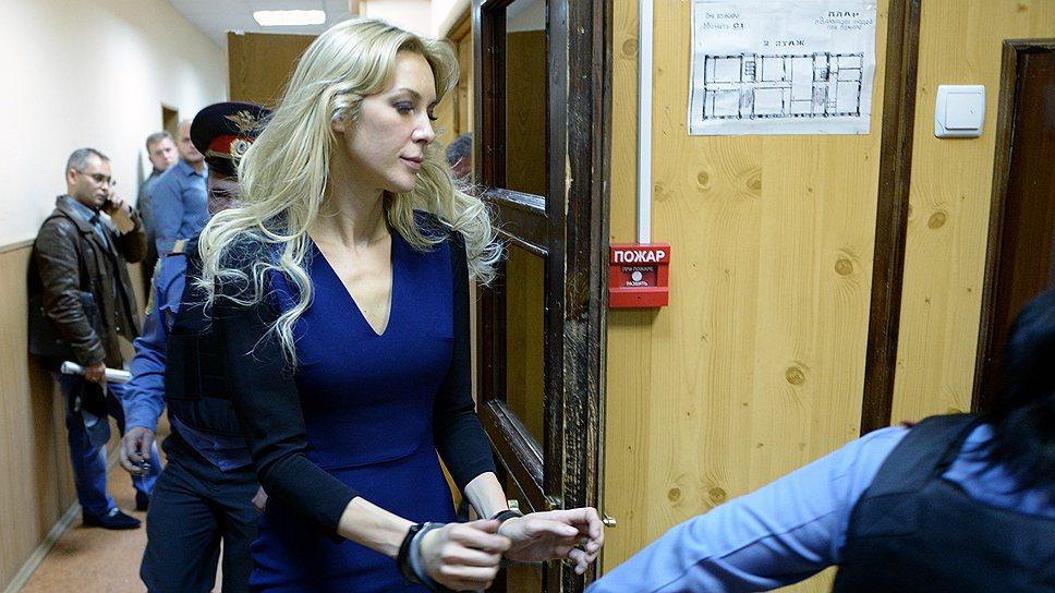 Елена Тищенко отпущена под подписку о невыезде