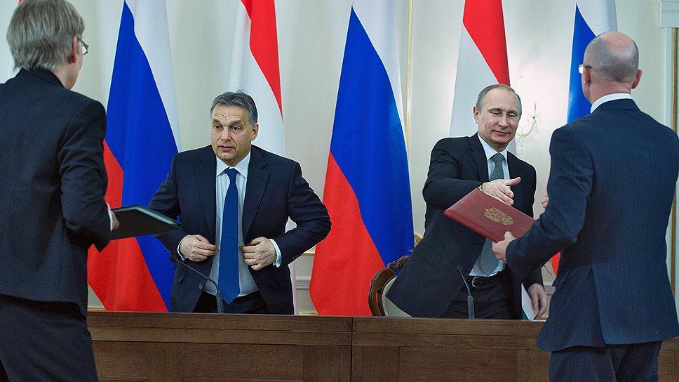 Виктор Орбан и Владимир Путин не так хорошо знают друга, как хорошо друг к другу относятся