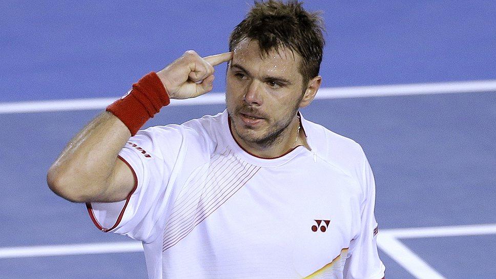 Станислас Вавринка впервые за последние семь лет выиграл у Новака Джоковича и вышел в полуфинал Australian Open