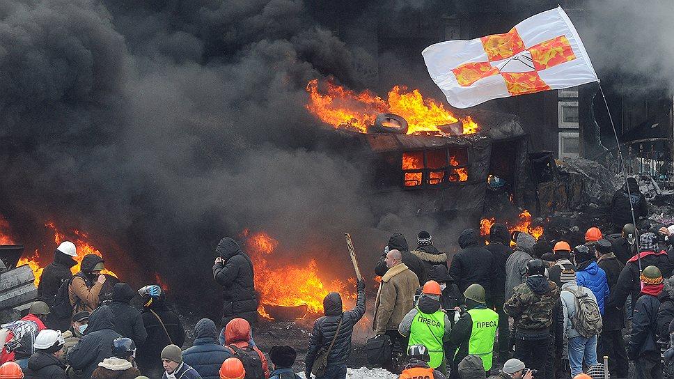 Почему Майдан убывает, но не сдается