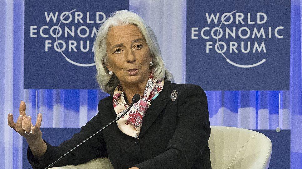 """Глава МВФ Кристин Лагард призвала развитые страны взвесить все последствия отказа от мер монетарной поддержки: шоки в современном мире """"не имеют границ"""""""