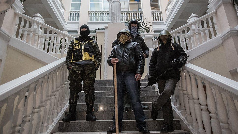 Захватившие здание Минюста представители радикальной оппозиции видят перед собой два пути: или победа, или тюрьма