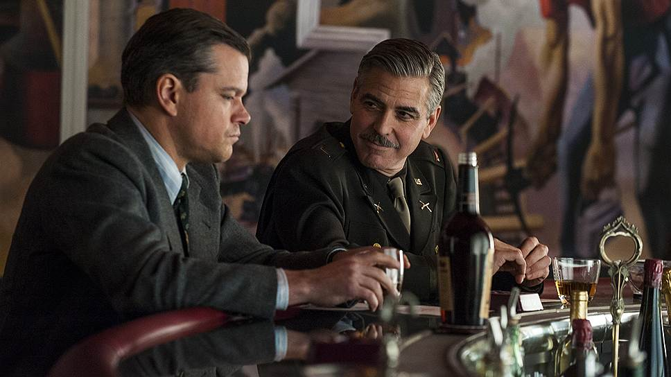 """Фильм Джорджа Клуни """"Охотники за сокровищами"""" на Берлинале показали вне конкурса, что спасло картину от расстрела критики"""