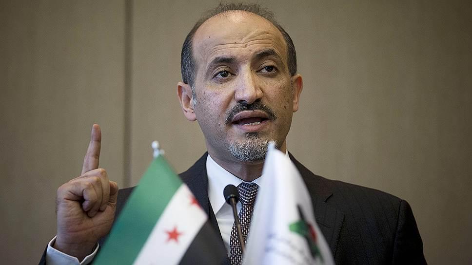 Глава Национальной коалиции оппозиционных и революционных сил Ахмед аль-Джарба