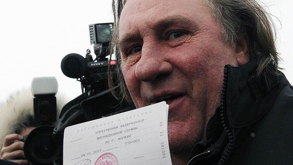 Актер Жерар Депардье получил гражданство РФ, потому что в России выгоднее платить налоги. Теперь ФМС объявила стоимость инвестиционного российского гражданства