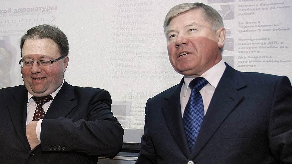 Не подсуживать / Вячеслав Лебедев и Антон Иванов не смогут напрямую влиять на состав объединенного суда