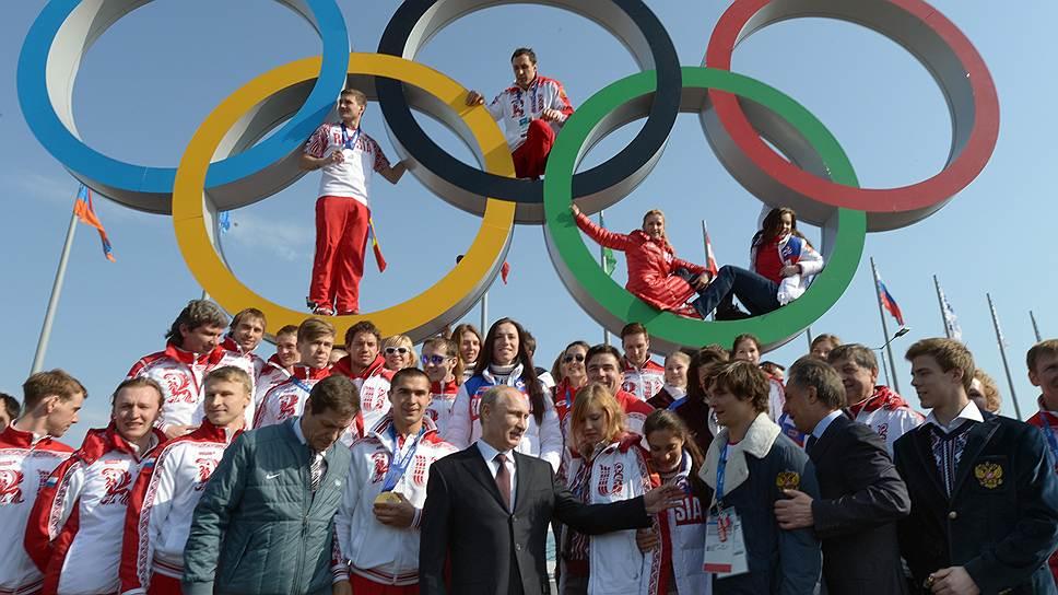 Ордена победы / Владимир Путин наградил героев Олимпиады