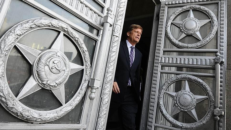 На смену Майклу Макфолу может прийти специалист по Украине