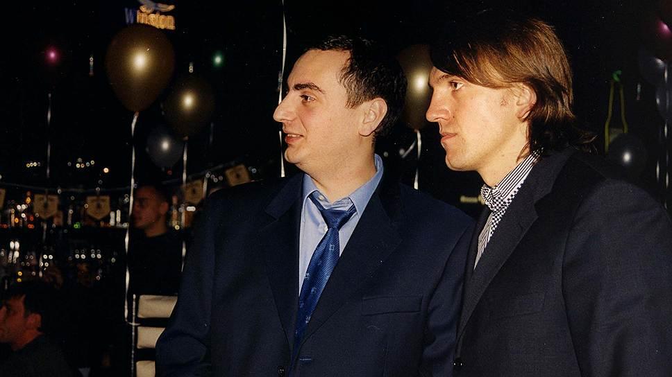 Анатолий Радченко (справа) дружил с другим фигурантом громкого расследования деятельности ОПС, вице-мэром Новосибирска Александром Солодкиным (слева)