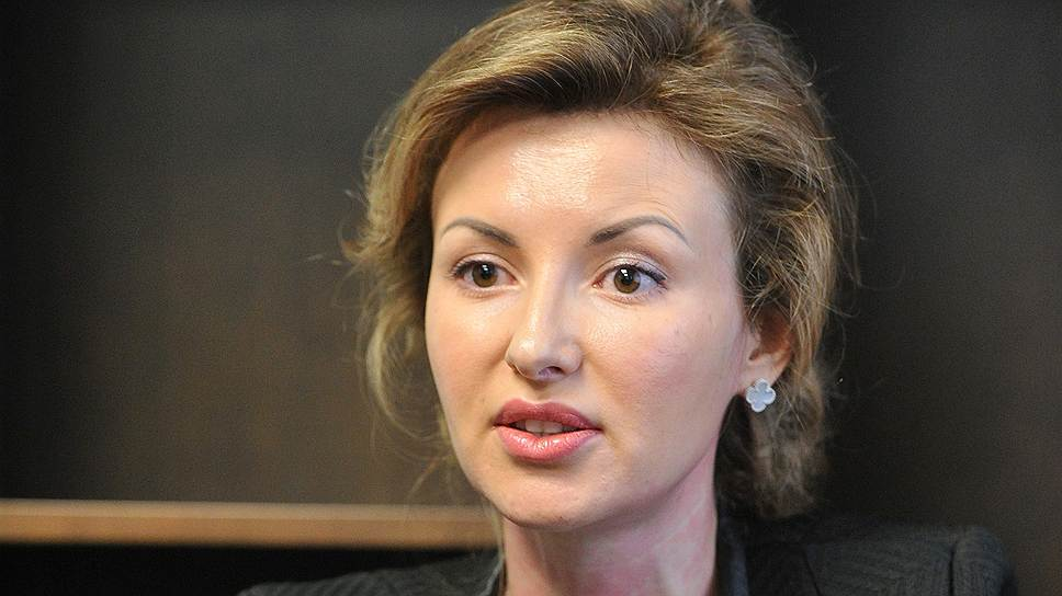 "Президент холдинга ""ПрофМедиа"" Ольга Паскина"