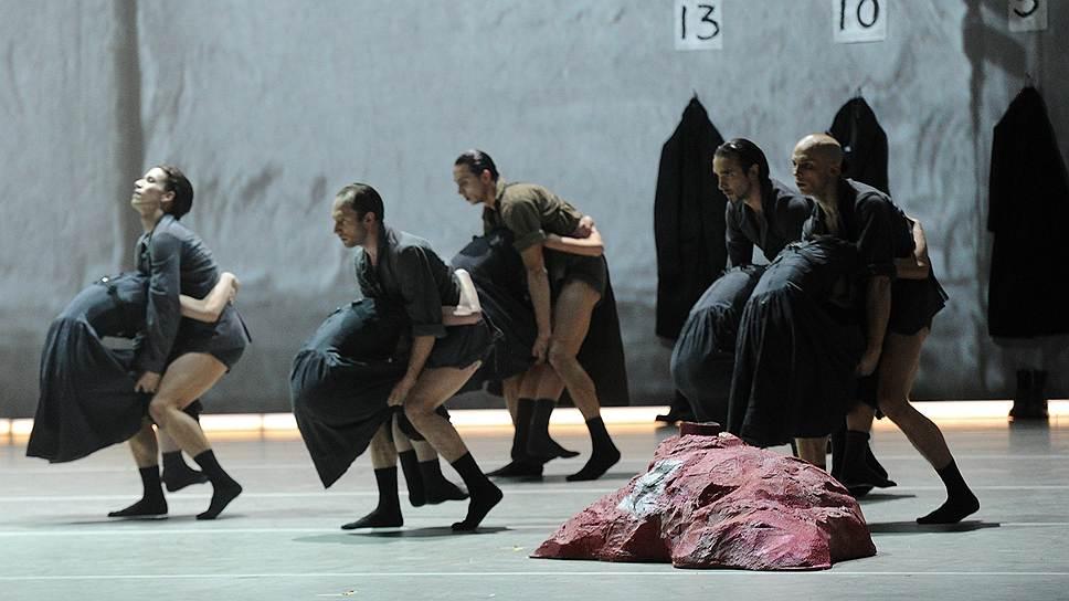 """Пресс-показ балета """"Весна священная"""" в постановке Татьяны Багановой"""