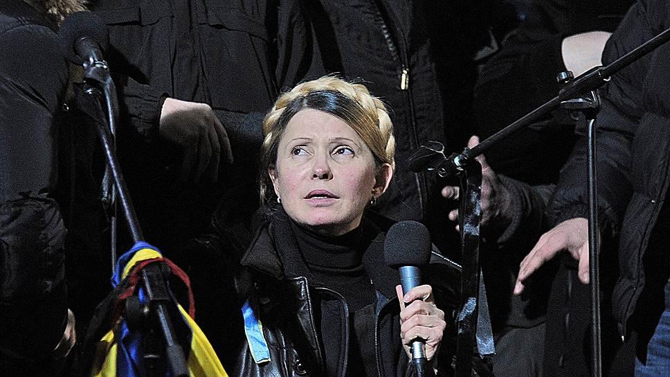 Юлии Тимошенко все труднее находить понимание и поддержку у активистов Майдана