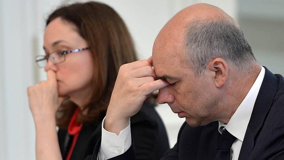 Глава ЦБ Эльвира Набиуллина и министр финансов Антон Силуанов ответят на санкции упорством в реализации действующего курса