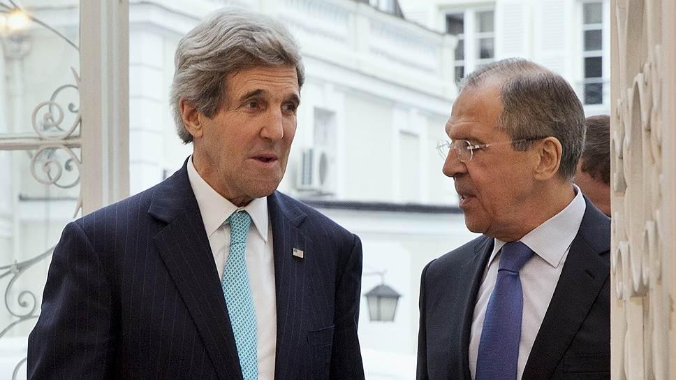 Переговоры Джона Керри и Сергея Лаврова в резиденции российского посла в Париже оказались продуктивными